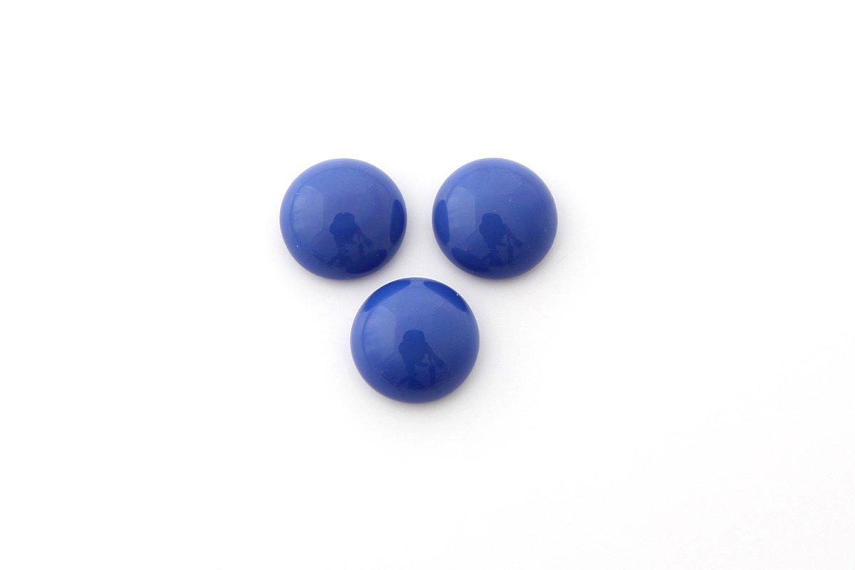 CAB.TONDO VETRO LISCIO MM.10 BLUE