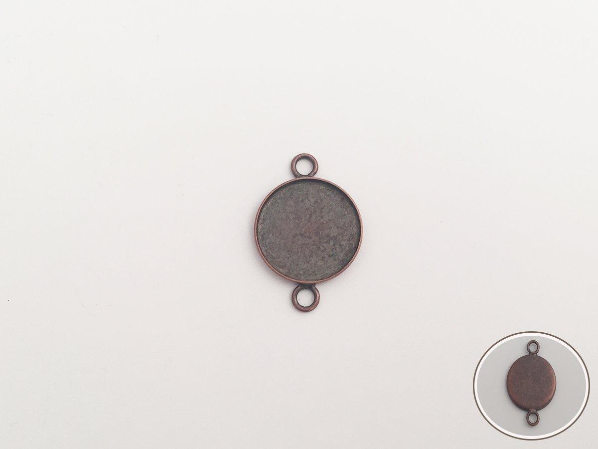 DIV.MET.xCABOCHON TONDO MM.18 RAME