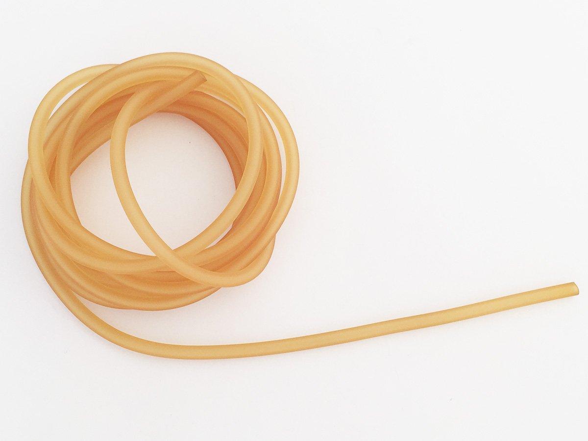 CORDONCINO PVC COLORE BEIGE SATINATO 4 MM FORATO