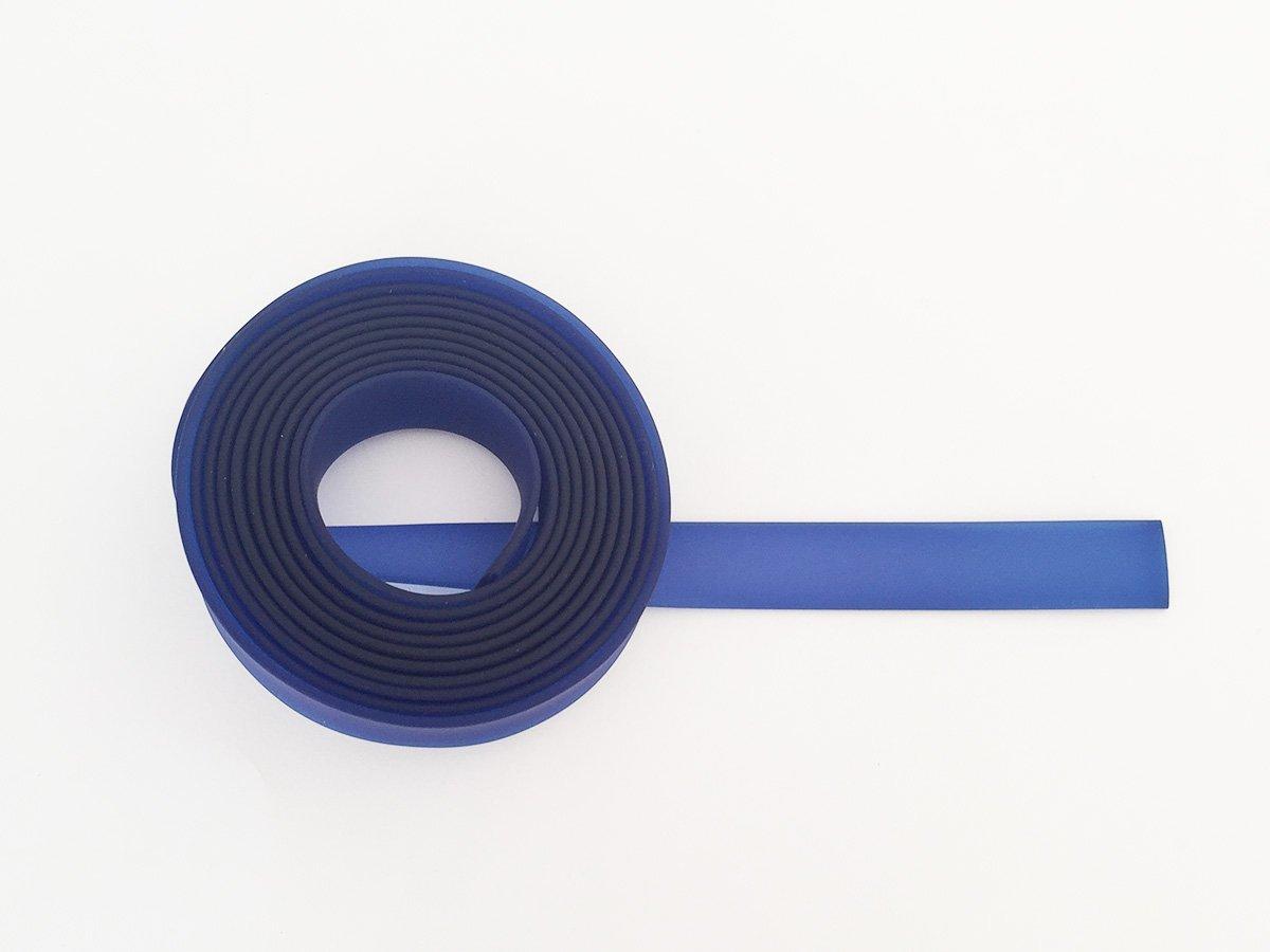 CORDONCINO PVC PIATTO COLORE BLUETTE SATINATO 15 x 2 MM