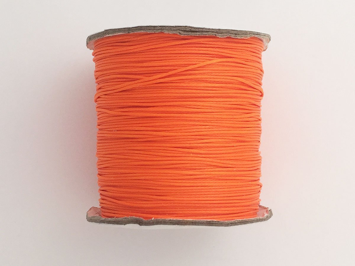 FILO POLIESTERE MM.0,5 NEON ORANGE