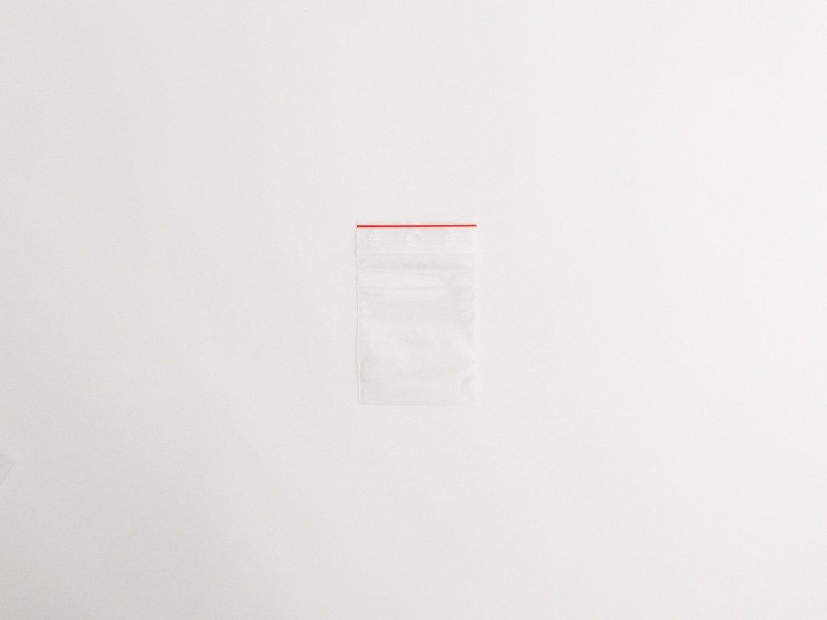 SACCHETTO PLASTICA C/ZIP MM.60×80