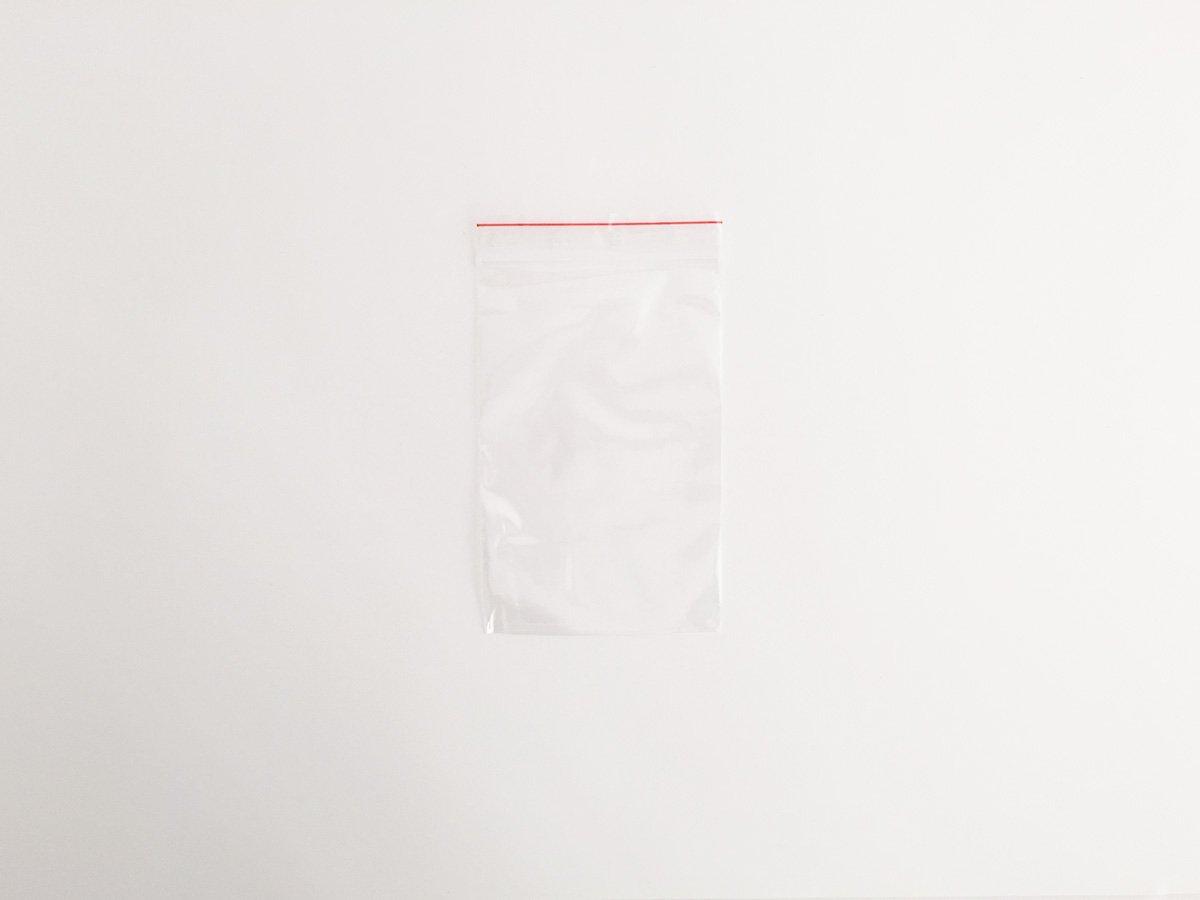 SACCHETTO PLASTICA C/ZIP MM.100×150