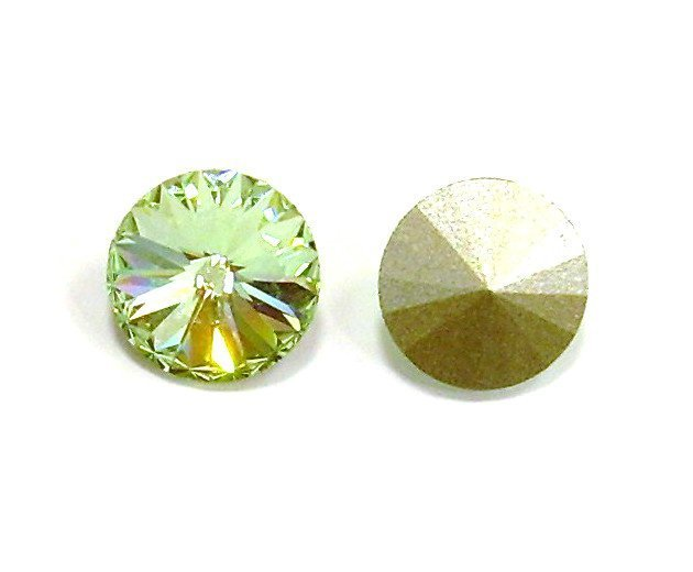 RIVOLO 1122 SWAROVSKI CHRYSOLITE 10 MM SS47
