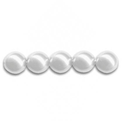 PERLA 5810 SWAROVSKI  WHITE 8 MM