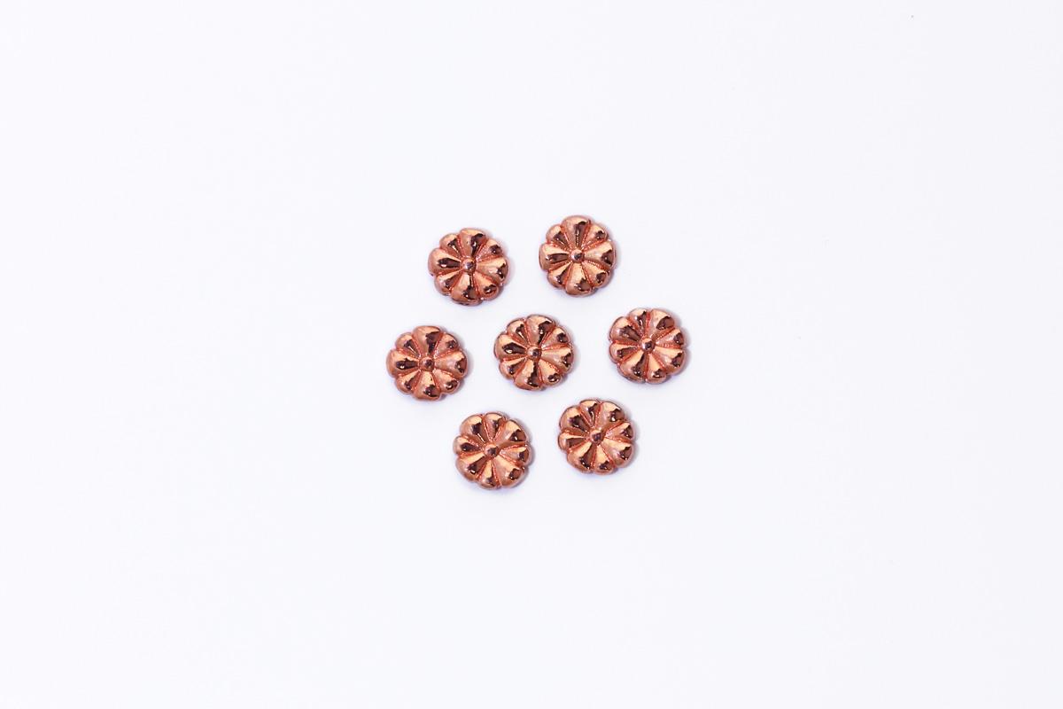 DIVISORE MARGHERITA COLORE ORO ROSA MM 10 x 3,5